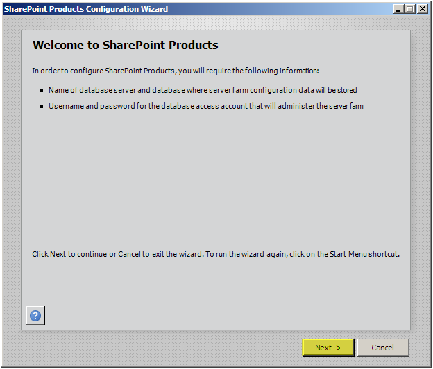 SharePoint 2010: Index Server (Mirror) Configuration