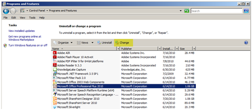 How to Change an Office 2010 License/Product Key « JPPinto com