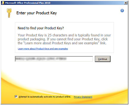 Outlook messenger registration key