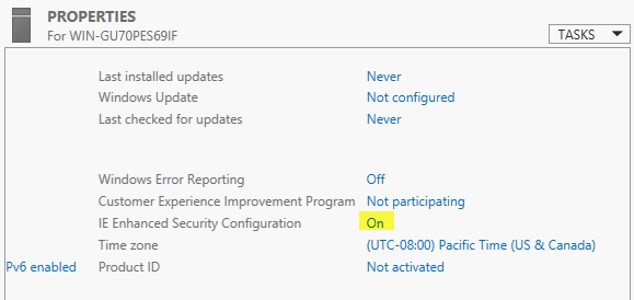 disable ie enhanced security