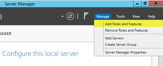 Installing the Web Server Role (IIS) on Windows Server 2012