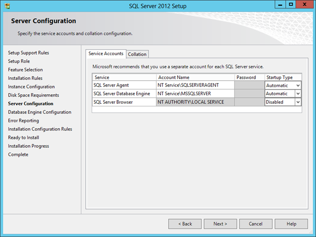 SQL Server 2012 Installation on Windows Server 2012 « JPPinto com