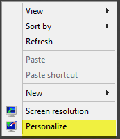 How to show the My Computer icon on Windows Server 2012